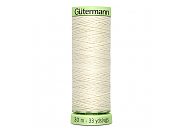 Нитки Gutermann Top Stitch 001
